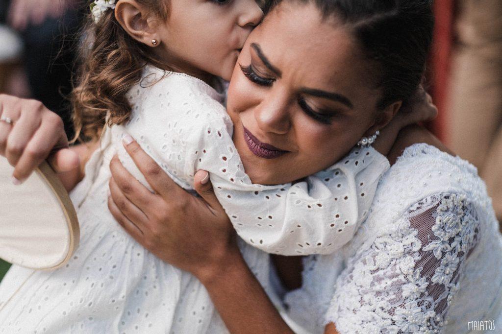 beijo daminha e noiva