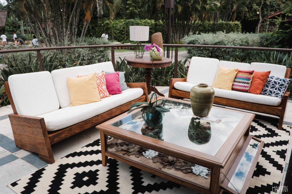 lounge decorativo casamento ao ar livre