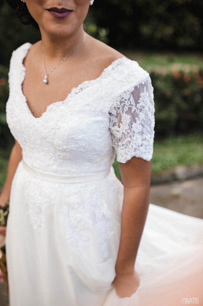 noiva casamento ao ar livre
