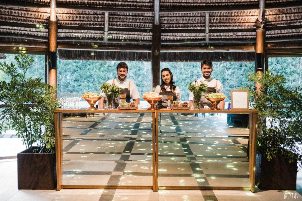 open bar de casamento